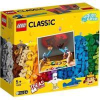 Lego Classic Peças E Luzes 441 Peças 11009 - Unissex-Amarelo