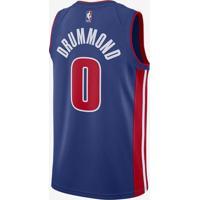 Camiseta Regata Nike Detroit Pistons Icon Edition Swingman Masculina