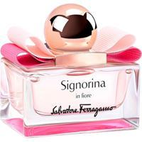 Perfume Feminino Signorina In Fiore Salvatore Ferragamo Eau De Toilette 30Ml - Feminino-Incolor