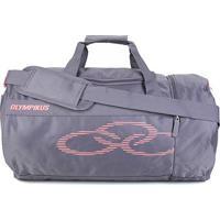 Bolsa Olympikus Gym 37 Litros - Unissex-Cinza