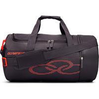 Bolsa Olympikus Gym 37 Litros - Unissex-Preto+Vermelho