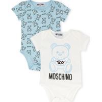 Moschino Kids Body Teddy Bear - Branco