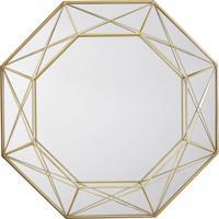 Espelho Decorativo Melissandre 40 X 57,5 Cm Dourado