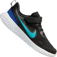Tênis Nike Revolution 5 Psv - Infantil - Preto/Branco