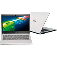 "Notebook Philco 14G2-B124Ws - Dual Core - Ram 2Gb - Hd 500Gb - Tela 14"" - Branco - Windows 7 Starter"