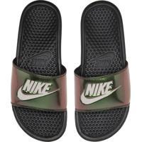 Chinelo Slide Nike Banassi Preto
