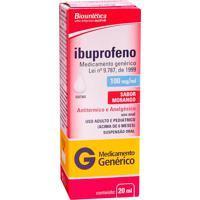 Ibuprofeno 100Mg Aché 20Ml Suspensão