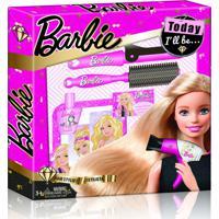 Barbie Hairstylist Gift Set Com Acessórios De Beleza Material Plástico Indicado Para +3 Anos Rosa Multikids - Br811 - Padrão