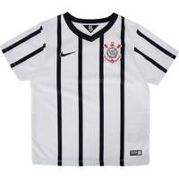Camiseta Nike Corinthians Infantil Branca 930676d854503