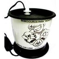 Bebedouro Para Cães Gato Online Branco - 110 Volts