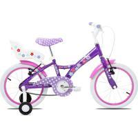 Bicicleta Tito A16 C/Porta Boneca - Masculino