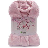 Roupáo Microfibra Feminino Lady Adulto Rosa Doce - Toalhas Appel