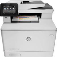 Multifuncional Hp Color Laserjet Pro Mfp M477Fnw Wireless Com Impressora, Copiadora, Scanner, Fax