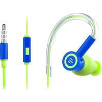 Fone De Ouvido Silicone Pulse Earhook Azul E Verde