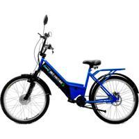Bicicleta Elétrica Machine Motors 350W 36V Azul/Preto