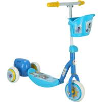 Patinete 3 Rodas Bel Fix Bubble Com Bolinhas De Sabão - Infantil - Azul