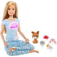Boneca Barbie Medita Comigo Com Acessórios - Feminino-Colorido