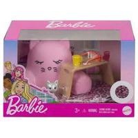 Barbie Estante Móveis E Acessórios - Sofa Gatinho Mattel
