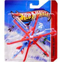 Avião Hot Wheels - Helicóptero Rescue Blade - Mattel