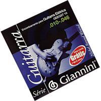 Encordoamento Para Guitarra Elétrica Leve Geegst8 Giannini