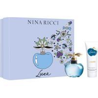Kit Perfume Feminino Luna Nina Ricci Edt 80Ml 1 Loção Corporal 100Ml - Feminino-Incolor