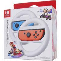 Par De Volantes Nintendo Joy-Con Wheel Para Switch Branco