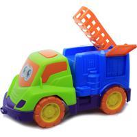 Brinquedo Para Bebês Carrinho De Atividades Bombeiro Pedagógico Colorido – Tchuco Baby – Samba Toys