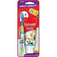 Kit Colgate Escova Dental Infantil Minions + Creme Dental Infantil Minions 1 Unidade