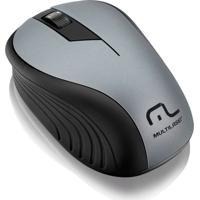 Mouse Sem Fio 2,4 Ghz Com Usb Multilaser Grafite