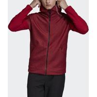 Jaqueta Capuz Adidas Z.N.E. Fast Release Hybrid Masculina - Masculino-Vermelho