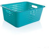 Caixa Organizadora G Azul Ou