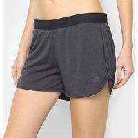 Short Adidas Corechill Climachill Feminino - Feminino-Preto