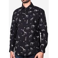 Camisa Ossos 200027