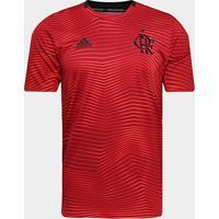 Camisa Flamengo Pré-Jogo 19/20 Adidas Masculina - Masculino