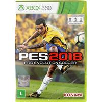 Jogo Pro Evolution Soccer (Pes) 2018 Xbox 360 - Unissex