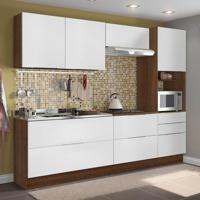 Cozinha Compacta Stella Smile 6 Pt 5 Gv Rustic E Branco