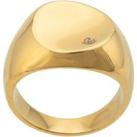 Nialaya Jewelry Polished Finish Ring - Dourado