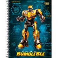 Caderno Espiral Capa Dura Universitario Bumblebee - Tilibra