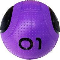 Bola Para Exercicios Medicine Ball Md Buddy 1Kg - Unissex