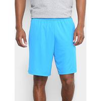 Short Adidas Bermuda Plain Masculina - Masculino-Azul+Preto