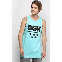 Regata Dgk All Star Tank Masculina - Masculino-Azul Claro