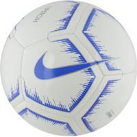 Bola De Futebol De Campo Nike Pitch Fa18 - Branco/Azul