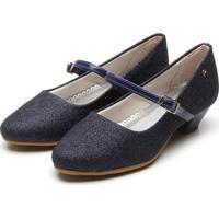 Sapato Pampili Salto Petit Azul