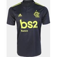 Camisa Flamengo Iii 19/20 S/Nº Torcedor C/ Patrocínio Adidas Masculina - Masculino