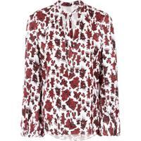 Tufi Duek Blusa Com Estampa Floral - Vermelho