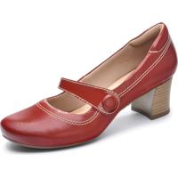 Sapato Neftali Comfort Boneca Vermelho