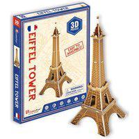 Quebra-Cabeça 3D Torre Eiffel 20 Peças- Brinquedos Chocolate