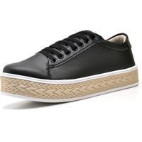 Tênis Casual Trivalle Shoes Preto