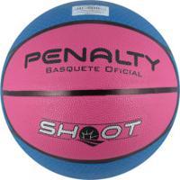 Bola De Basquete Penalty Shoot Nac Vi Cbb - Azul Rosa 3c830bbef961e