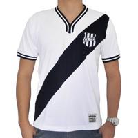 Camisa Retrô Mania Ponte Preta 1977 Branca - Masculino